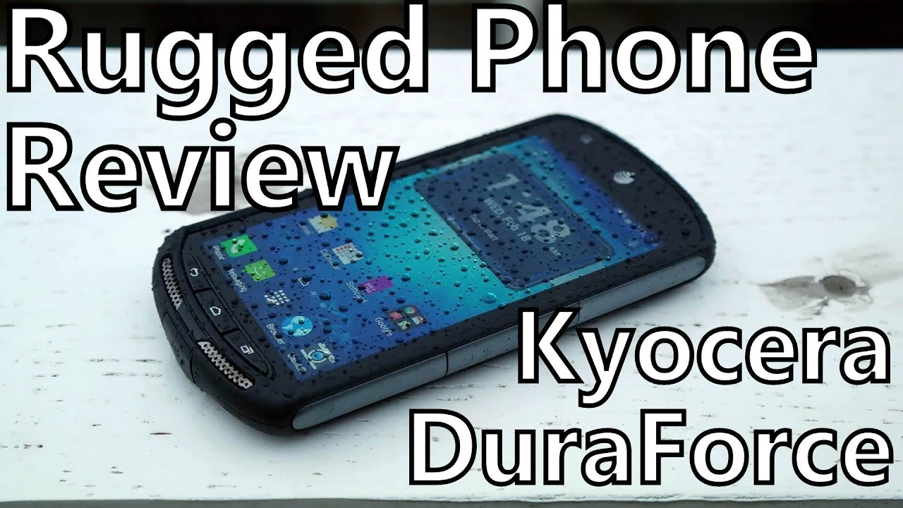 sports shoes 05c7c 05b31 Smartphone Review: Kyocera DuraForce on AT&T - Rugged and Waterproof  Android!