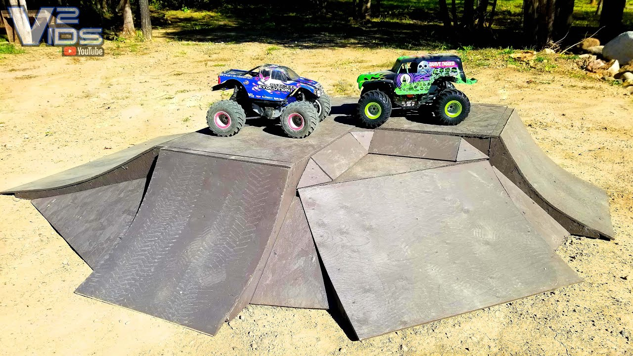Download Awesome RC Monster Truck Scale track