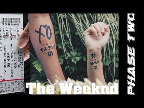 VLOG We Got XO TATTOOS & The Weeknd's Portland Concert (Phase Two)