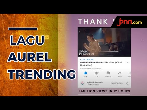 Ashanty Bangga Single Aurel Hermansyah Trending di YouTube