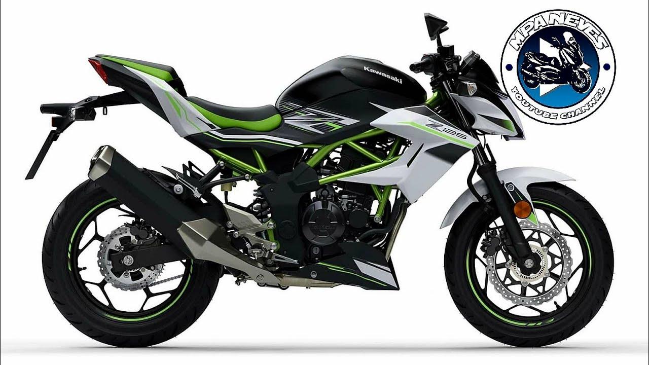 Apresentação e teste da Kawasaki Z125 - YouTube