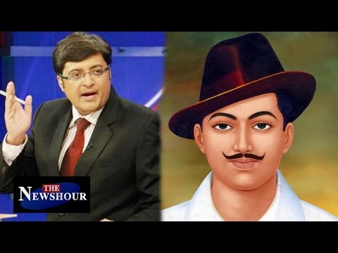 Bhagat Singh Being Labelled As A 'Terrorist': The Newshour Debate (26th April 2016)