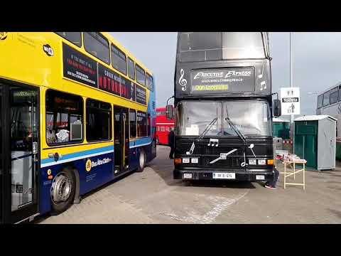 Dublin Bus Vintage Executive Express.