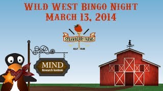 Wild West Bingo Night