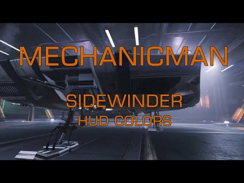 Elite Dangerous - MechanicMan's ship inspections and maintenance - Sidewinder