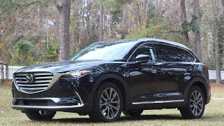 Here's the 2018 Mazda CX9 Grand Touring -  REVIEW w/ Test Drive & Tech Features