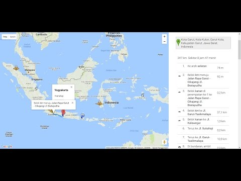 Tutorial Google Maps API Marker & Directions with Javascript