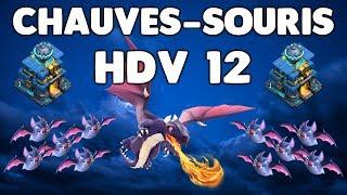 Clash of Clans - CHAUVES-SOURIS HDV12 - DRAGONS - BATS