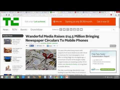 Wanderful Media Raises $14 5 Million Bringing Newspaper Circulars To Mobile Phones
