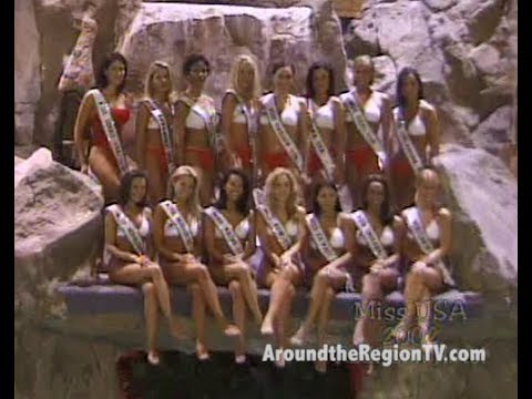 AROUND THE REGION ARCHIVE - MISS USA 2002 (BEHIND THE SCENES)