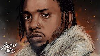 Kendrick Lamar DAMN. Digital Speed Painting