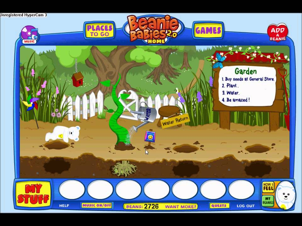 a6791048151 Ty Beanie Babies 2.0~Planting Happy Seeds - YouTube