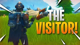 "*NEW* Fortnite ""BLOCKBUSTER / THE VISITOR"" Skin Gameplay.."