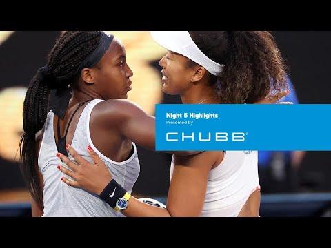 Coco Gauff conquers defending champion Naomi Osaka | Australian Open 2020 Day 5