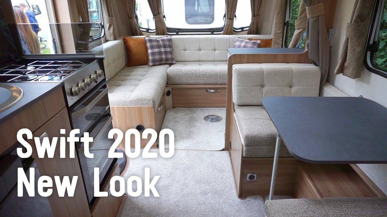 NEW LOOK 2020 Swift Caravans: Sprite, Eccles, Challenger, Elegance &  Basecamp