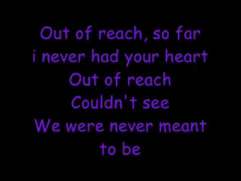 out of reach lyrics-gabrielle