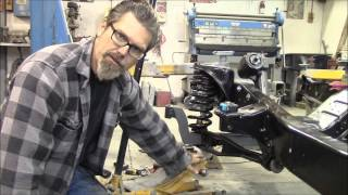 How to install a dropped I-Beam in a '66 Ford Pickup