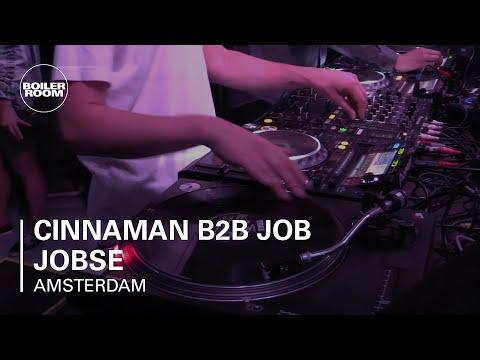 Cinnaman B2B Job Jobse Boiler Room Amsterdam DJ Set