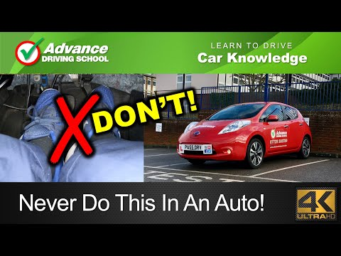 How NOT To Drive An Automatic Car  |  Learning to drive: Car control skills