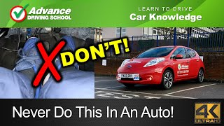 How NOT To Drive An Automatic Car | Learn to drive: Car control skills