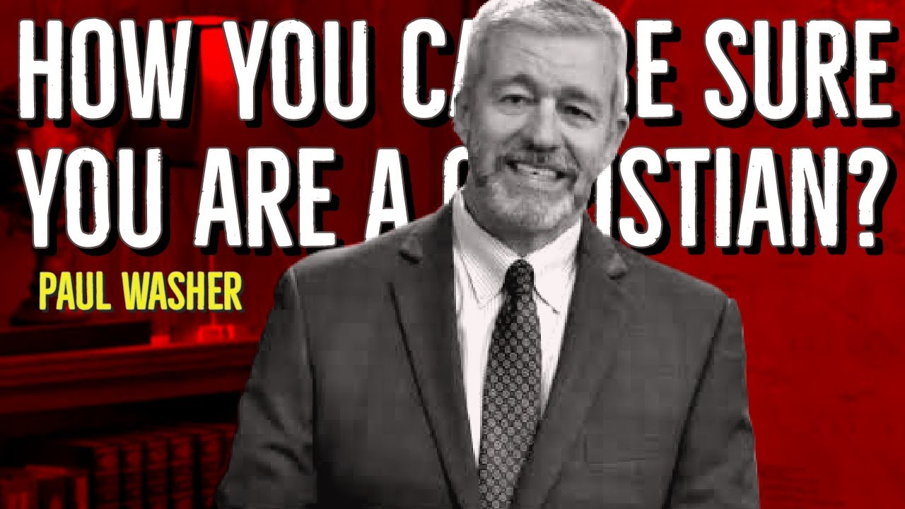 How you can be sure you are a Christian?   #PaulWasher #Shorts