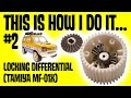 This is How I do it #2 Locking differential (Tamiya MF 01X Suzuki Jimny)