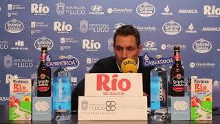 Video Natxo Lezkano RP post Leche Río Breogán Liberbank Oviedo Baloncesto