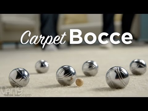Carpet Bocce Indoor Bocce Ball Set