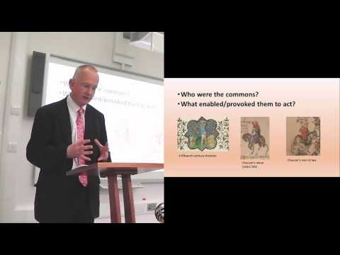 Between Subjects and Citizens: the Commons of England, c. 1300 - 1550