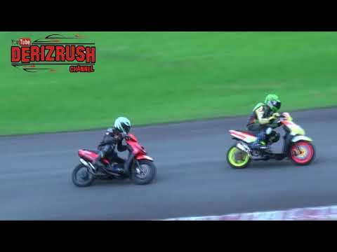 Aerox vs beat vs mio road race matic 250 cc open - jakarta exposure race 2018