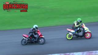 Aerox vs beat vs mio road race matic 250 cc open - jakarta exposure race 2018