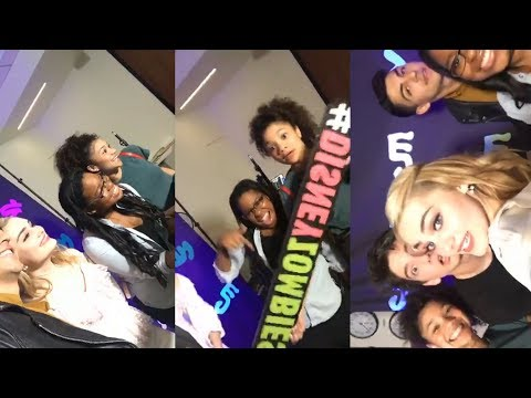 Disney Zombies Cast | Instagram Live Stream | 16 February 2018