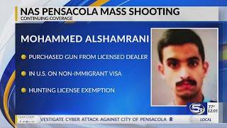 FBI says federal firearms licensed dealer sold NAS Pensacola shooter gun in July