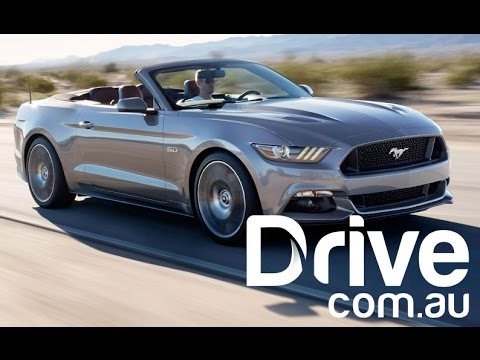 Ford Mustang EcoBoost Convertible Review | Drive.com.au