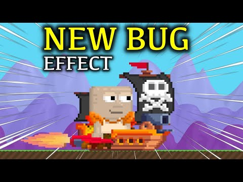 Don't Try This Or You Will Be Banned ! New Bug Effect (Prank) | Growtopia