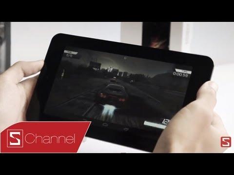 Schannel - Thử khả năng chơi games, xem film Full HD trên HP Slate 7 - CellphoneS