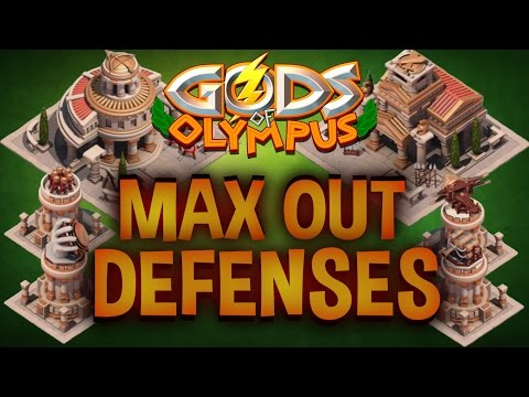 Leveling up Defenses to its MAX | Gods of Olympus