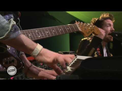 "Fenech-Soler performing ""Kaleidoscope"" Live on KCRW"