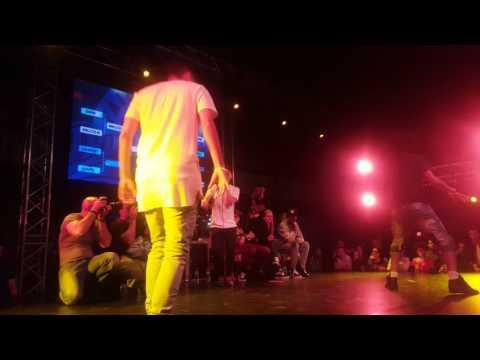 Fair Play Dance Camp  Beat Box Dance Battle: Cyutz vs Laurent Les Twins