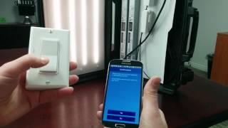 Linking ILLUMRA ZigBee Switch to Philips EasySense controller