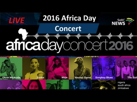 2016 Africa Day Concert: 28 May 2016