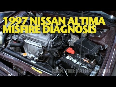 1997 nissan altima misfire diagnosis ericthecarguy youtube rh youtube com 98 Nissan Altima Engine Diagram 1997 nissan altima engine diagram