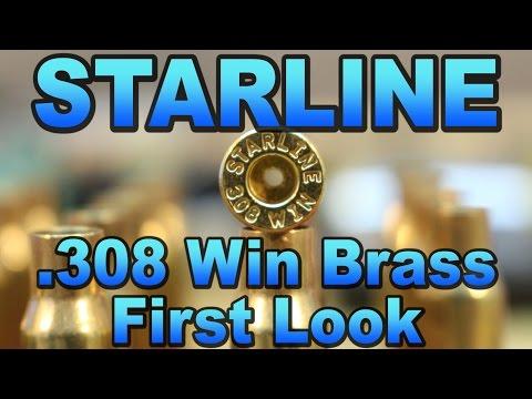 Starline 308 Brass - First Look