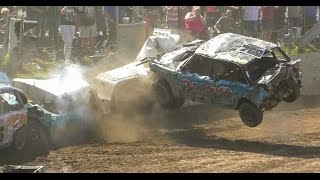 The Biggest Crashes of 2016 Banger Racing