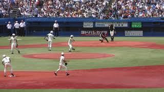 東東京大会決勝 二松学舎大付VS小山台 ③ シートノック