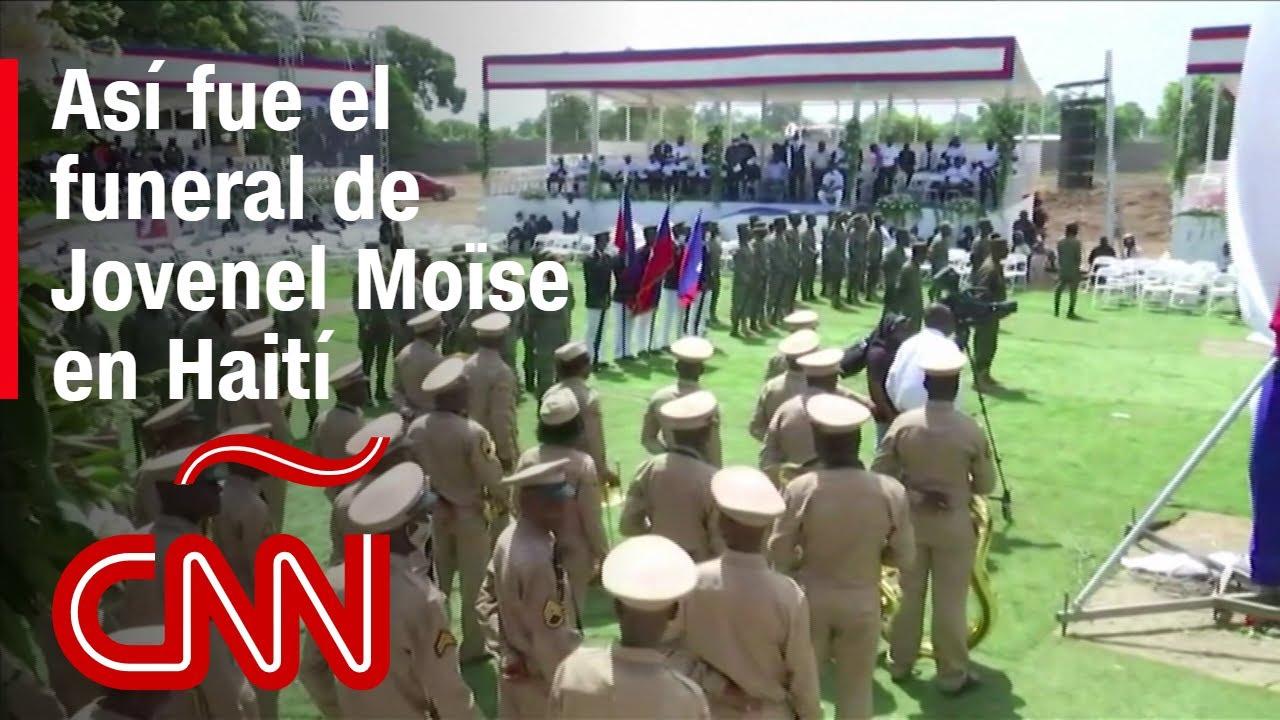 Funeral del presidente Jovenel Moïse en Haití: así fue la ceremonia