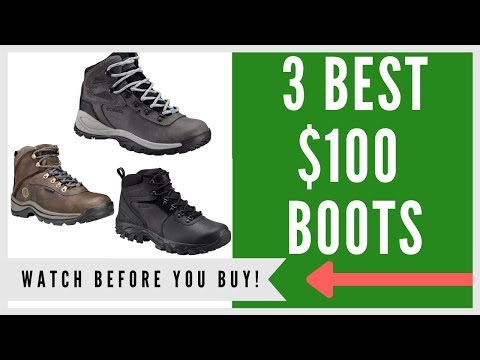 ✅ Hiking Boot: 3 Best Hiking Boots Under $100 In 2019