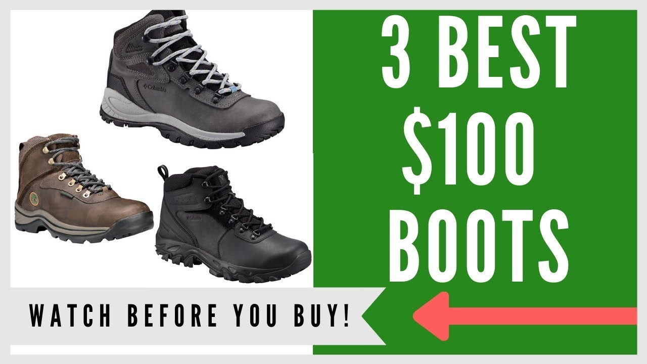 793cb9f0cca ✅ Hiking Boot: 3 Best Hiking Boots Under $100 In 2019
