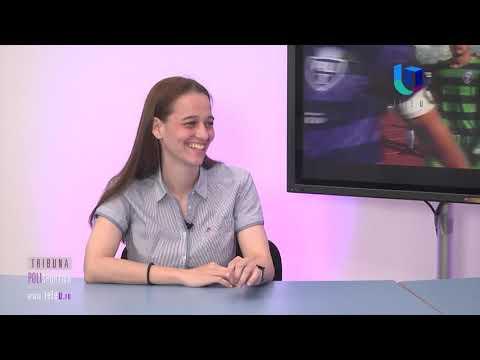 """TeleU: Lorela Ardelean la """"Tribuna polisportivă"""""""