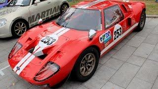 mini size ford gt40 replica gt35 660cc engine k4 gp